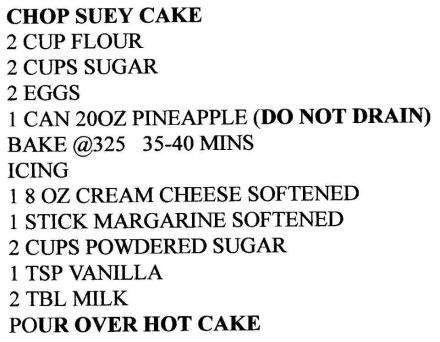 Recipe of Debby Long