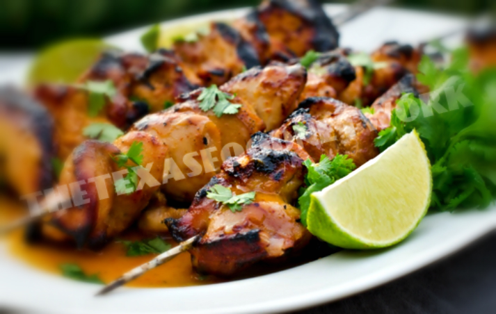 Sweet And Spicy Sriracha Chicken Skewers Thetexasfoodnetwork