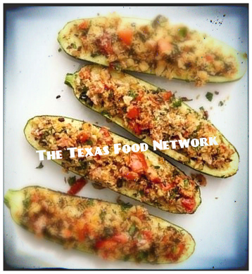 Stuffed Zucchini Chef Shelley Pogue